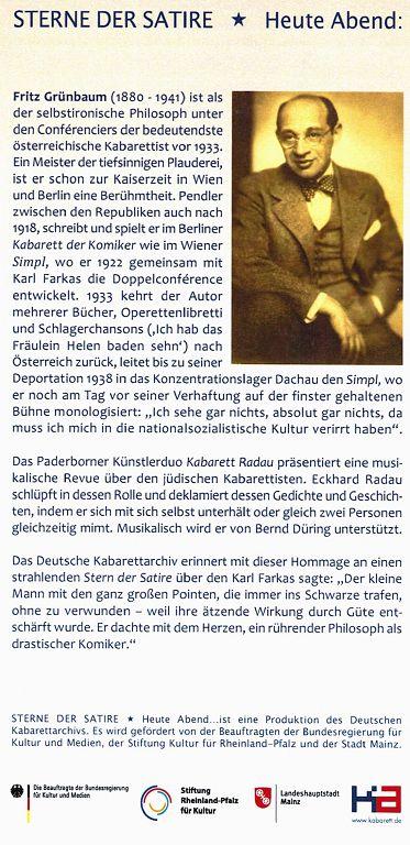 Kabarett Archiv Mainz