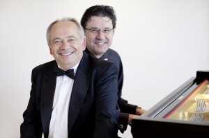 Eckhard Radau und Benny Düring